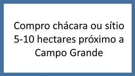 Compro chacara/sítio