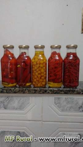 Pimentas em conserva