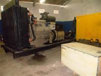 Grupo Gerador Comercial, com motor Cummins Diesel Série QST30-G4 composto por alternador WEG de 1250