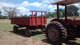 Trator Massey Ferguson 65 X 4x2 ano 75