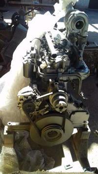 Motor mwm modelo 229 6 cilindro turbinado