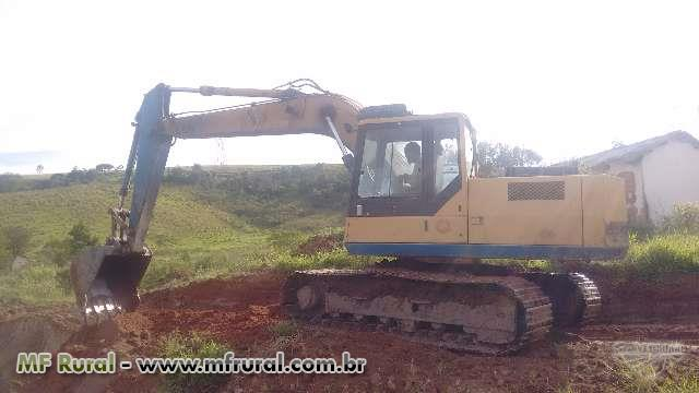 Escavadeira Komatsu Pc 150 Serie 5 /ano 2001