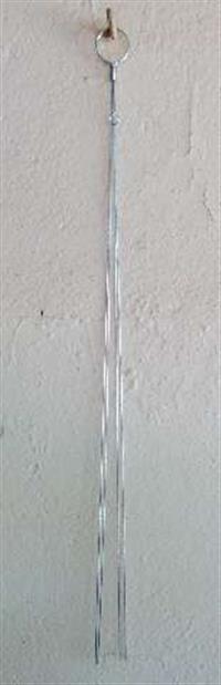Haste de Arame Galvanizado p/ Orquídea