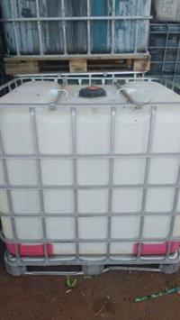 Contêiner Containers Ibc 1000 Litros Plástico gradeado