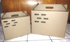 Caixas Para Transporte de Aves(Galinhas, Faisões) e Coelhos