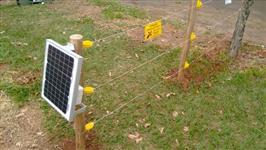 Eletrificador Rural Solar 40km com bateria