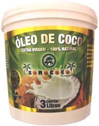 Oleo de Coco Extra Virgem Sorococo Balde Com 3 Litros Melhor preço