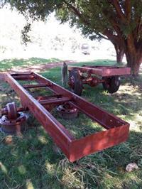 Carretas agrícolas para trator