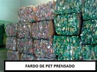 COMPRO GARRAFA PET PRENSADA / EMFARDADA MISTA OU SEPARADA POR COR