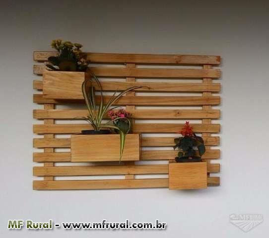 Floreiras para jardins verticais e paisagismo