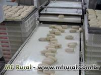 Maquina,pão congelado, panificação, modeladora, cilindro, divisora, super maqui