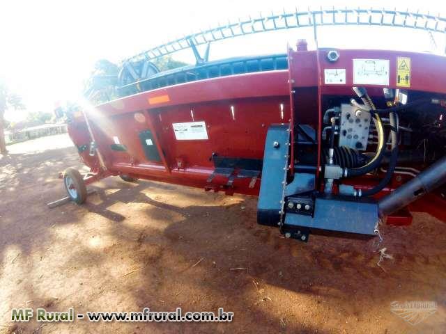 Plataforma de Soja Case - Draper 35 Pés 3162 Terraflex - Ano 2014