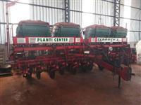 Plantdeira planti center 13 linhas articulada 50 sulcador disco fertisystem