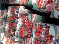 Compra e venda de morango