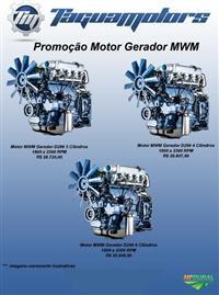 Motor D229/4 Estacionário para Grupo Gerador/Motor Bomba