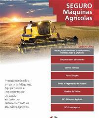 SEGURO CUSTEIO, SEGURO PARA TRATORES E MAQUINAS AGRÍCOLAS