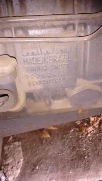 Motobomba de irrigação motor Scania série 10 6cc com carreta