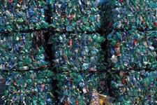 Compro garrafa pet enfardada verde e cristal