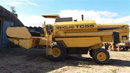 COLHEITADEIRA NEW HOLLAND MODELO TC 55 ROTOR LEZY