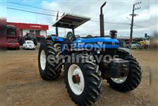 Trator New Holland 7630 4x2 ano 02
