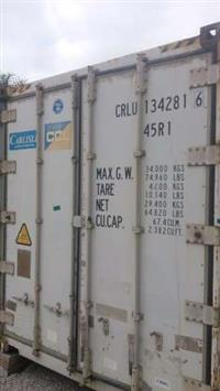 Containers reefers