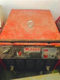 Maquina de solda bombozzi tdc 445