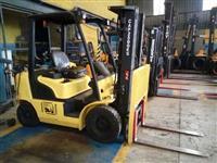 Empilhadeira - Marca Hyundai -modelo - 25-7M Capacidade 2.500 Kgs - GLP - Ano 2012 - Automatica