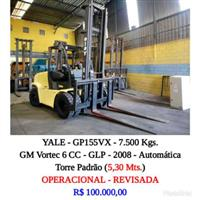 Empilhadeira - Yale - GP155VX - 7.500 Kgs.