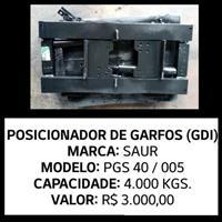 Posicionador de Garfos (GDI) Para Empilhadeiras - Saur - PGS 40 / 55 - 4.000 Kgs.