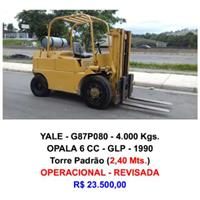 Empilhadeira - Yale - G87P080 - 4.000 Kgs.