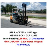 Empilhadeira - Still - CLX25 - 2.500 Kgs.