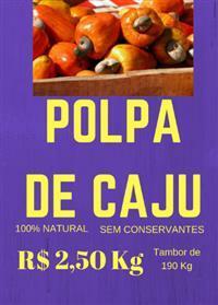 Polpa de Caju