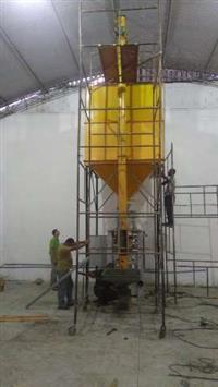 Máquina empacotar grãos e farinha