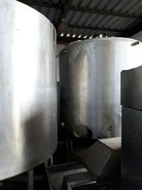 Tanques inox 304 para industria lactea