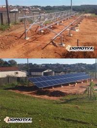 KIT GERADOR DE ENERGIA SOLAR/ KIT FOTOVOLTAICO 21,7 kwp PARA SOLO + INSTALAÇÃO + PROJETO