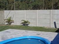 Muro Plaquinha de concreto