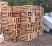 Caixas de madeira para repolho