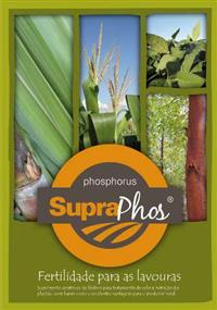 SUPRAPHOS - FERTILIZANTES MINERAL SIMPLES / P2O5 Total 14 %, P2O5 (solúvel) cna + H2O 9 %, Ca 12 %.