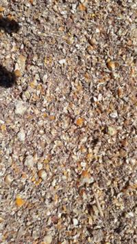 Varredura e resíduos de grãos