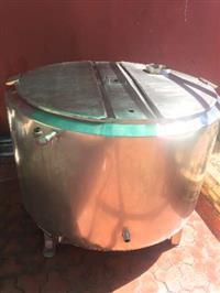 Tanque Inox 500L