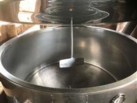 Tanque de expansão de leite 1000 lts