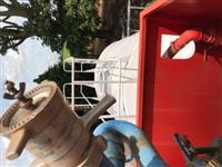 Tanque Pipa Bombeiro Rural