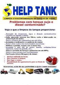 Limpeza e descontaminação de tanques de diesel