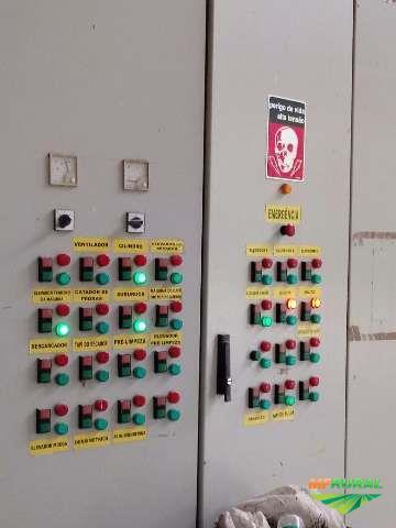 Indústria completa para secagem