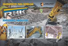 Rompedores Hidráulicos para Retro Escavadeira (novo).