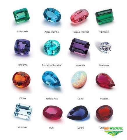 Compra de pedras preciosas brutas ou lapidadas para exportação