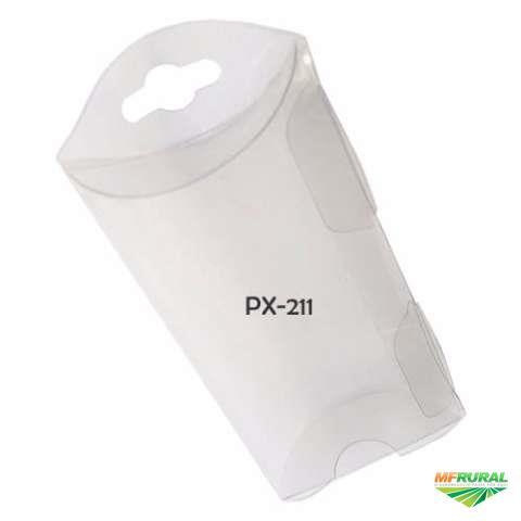 PX-211 (7 X 5 X 2 cm) Pcte 25unds. Embalagem para Sementes, Caixa para Sementes, Caixa de Plástico