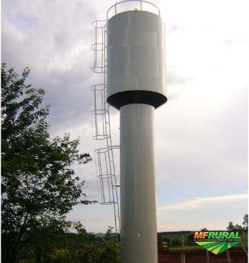 Fabricação e manutenção de Reservatórios Metálicos