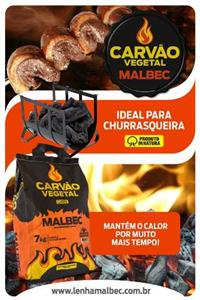 Carvão Vegetal Malbec