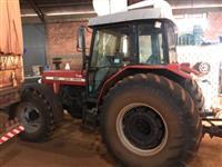 Trator Massey Ferguson 297 4x4 ano 05